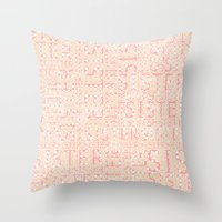 sister Throw Pillows featuring Sister by CatDesignz