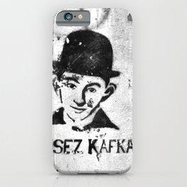 LISEZ KAFKA in PARIS iPhone Case