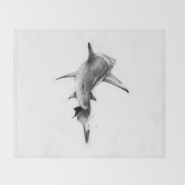 Shark II Throw Blanket