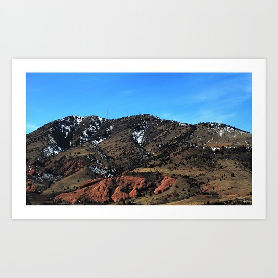 The Rockies Art Print