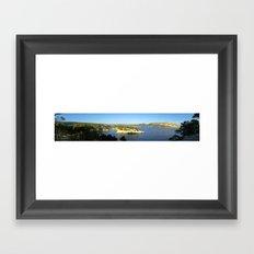 Cassis_Panoramique Framed Art Print