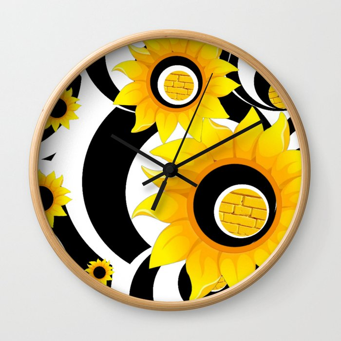 OLE YELLOE Wall Clock