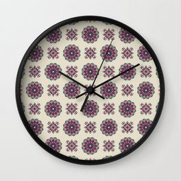 Kinship Summer Geometric Pattern Wall Clock