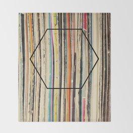 Modern Music Throw Blanket