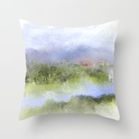 italian Throw Pillows featuring Italian Impressions by Jessielee