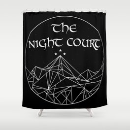 The Night Court Shower Curtain