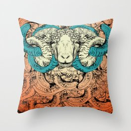 Khnum Throw Pillow
