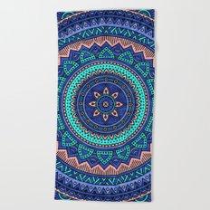 Hippie mandala 38 Beach Towel