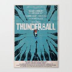 Thunderball Canvas Print