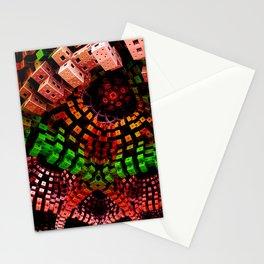 mandelbulb dreams -2a- Stationery Cards