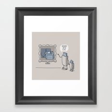ADAM & EVE Framed Art Print