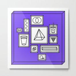CAN YOU? Metal Print