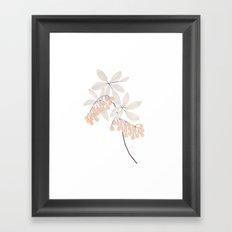Enkianthus Flower Framed Art Print