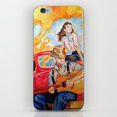 Vintage, music, retro. iPhone & iPod Skin