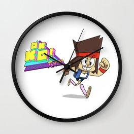 OK KO! KO Wall Clock
