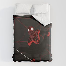 Ultimate Spider-man Miles Morales Duvet Cover