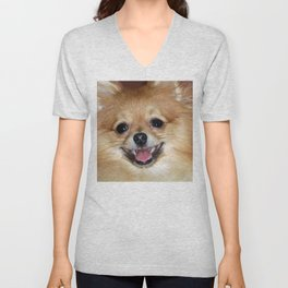 My joyful smile Unisex V-Neck