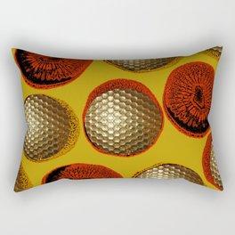 YELLOW & GOLD Rectangular Pillow