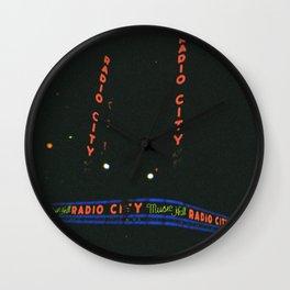 Radio City Music Hall, New York Wall Clock