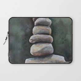 Cairns In A Clearing Laptop Sleeve
