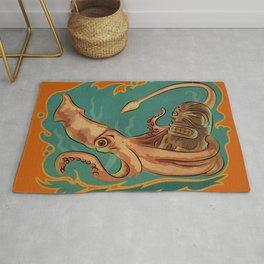 Squid & Tiki Rug