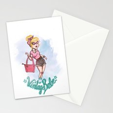 Vintage Babe  Stationery Cards
