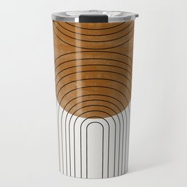 Abstract Flow Travel Mug