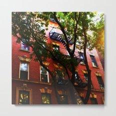 Soho New York Metal Print