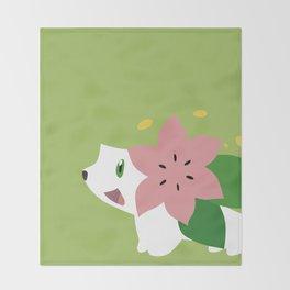 Shaymin Throw Blanket