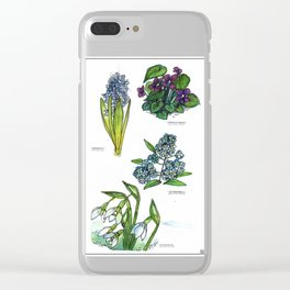 Few of my favourite flowers Clear iPhone Case