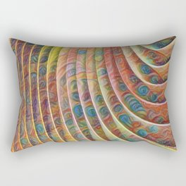 ABSTRACTED | ART STORE | CURVES LINES Rectangular Pillow