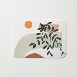 Soft Shapes I Bath Mat