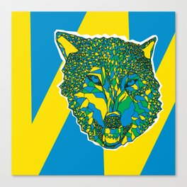 my wolf Canvas Print