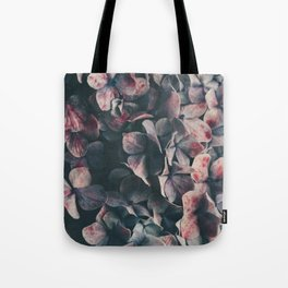 hydrangea - moody blues Tote Bag