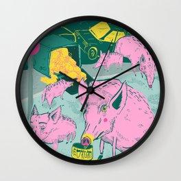 Pigggies Wall Clock