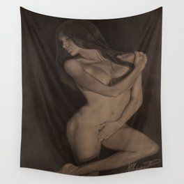 Control, Alex Chinea Pena Wall Tapestry