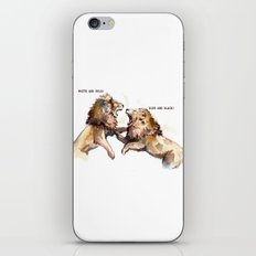 Dress fight - Blue or white? iPhone & iPod Skin