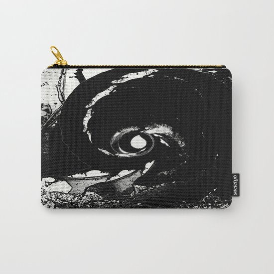 Whirlpool Of Black Carry-All Pouch