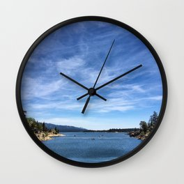 Big Bear Lake Wall Clock