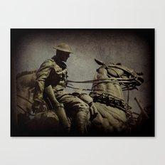 the cavalry Canvas Print