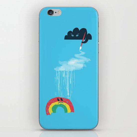 Rain Rain Go Away iPhone Skin