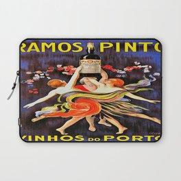 Vintage poster - Ramos Pinto Laptop Sleeve