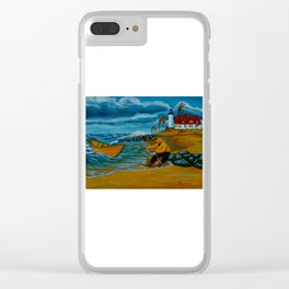 Getting Ashore at Last Clear iPhone Case