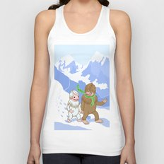 Snow Day! Unisex Tank Top