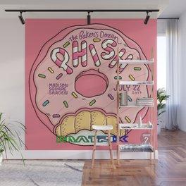 PHISH THE BAKERS DOZEN MATRIX TOUR DATES 2019 KURA KURA Wall Mural