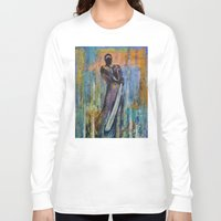 ninja Long Sleeve T-shirts featuring Ninja by Michael Creese