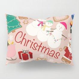 Christmas Party Pillow Sham
