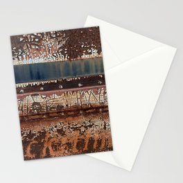 rustic travel Stationery Cards