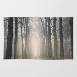 Through the Misty Wood Rug