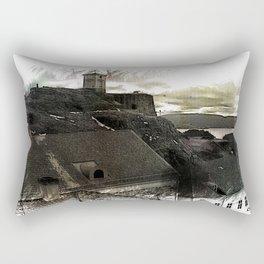 Fredriksten fortress, Halden Norway Rectangular Pillow